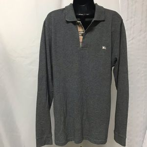 Men Burberry London Classic Fit Polo size med.